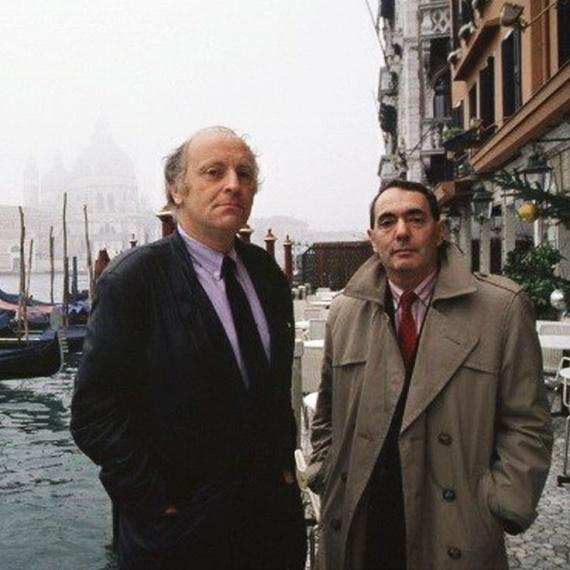 Бродский и Найман в Венеции