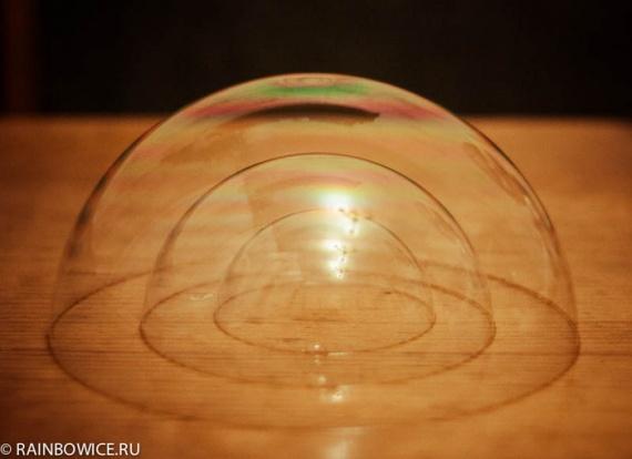 Как сделать мыльные пузыри сердечко